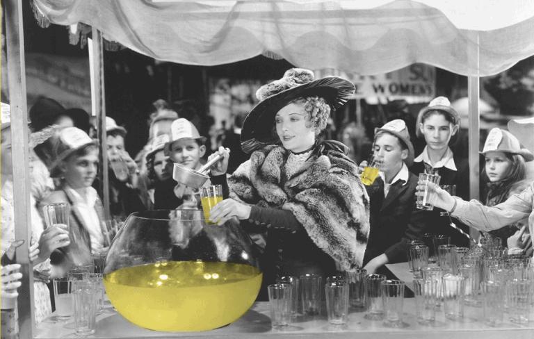 Lemonade Business Woman