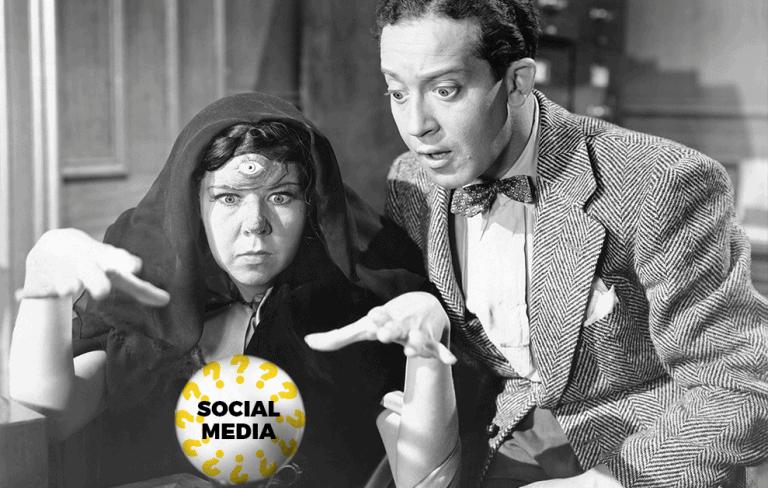 Social Media Divination